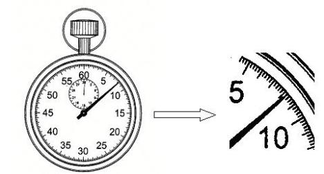 analogue stopwatch